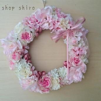 ピンクの花盛り