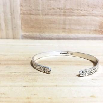 925純銀製のブレスレット_シンプルな生活