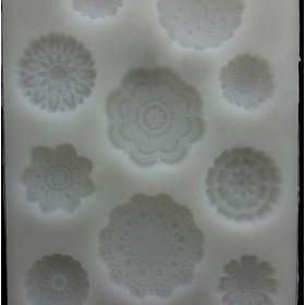 シリコンモールド 10種★レース★キャンドル 粘土 石鹸 ハンドメイド