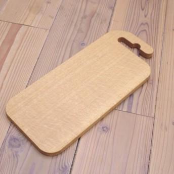 長方形のナラ材のカッティングボード