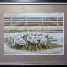 ジークレーCG版画「旅の憩い」※9月で販売終了
