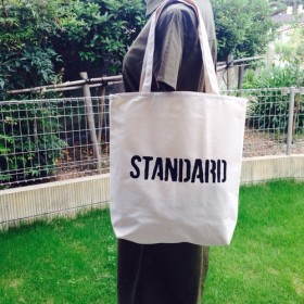 STANDARD ロングLサイズ ロゴトートバッグ