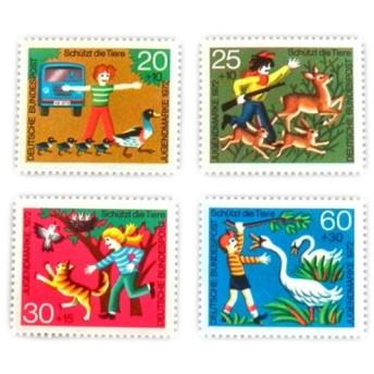 ドイツシリーズ切手(動物愛護)Germany DA-STE080
