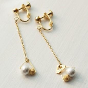 petit△triangle earring