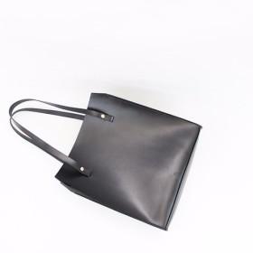 JAPAN LANSUI DESIGN 名入れ対応 ヌメ革手作り手縫い ハンドバッグ