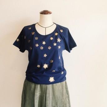 【夜空と星座のTシャツ S・M・Lサイズ】