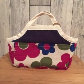お花のバッグインバッグ