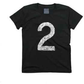 TRAFFIC(交通標識) 2 Tシャツ 駐車場の「2」