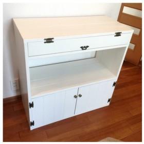 選べる5color*kitchen rack *W80 キャビネット・ランドセルラック