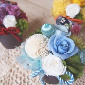 プリザーブドフラワー 和み-nagomi- 退職祝い、還暦祝いのプレゼントや お供えに。