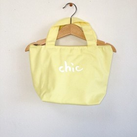 SALEchic lunch bag.