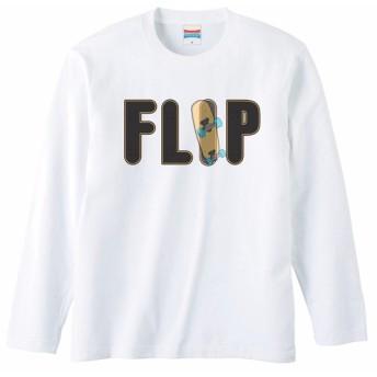 [ロングスリーブTシャツ] FLIP