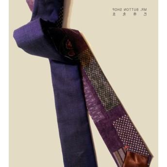 ミスター・バート - 両面手紫色のネクタイ-neckties紫色