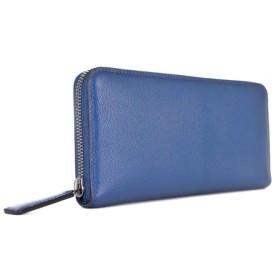 フレンチシェーブル(山羊革)zip round wallet