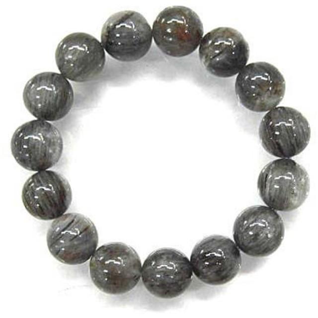 天然石 ブルールチルクォーツ11.5mm玉ブレスレット 内周:約16.1 160720275