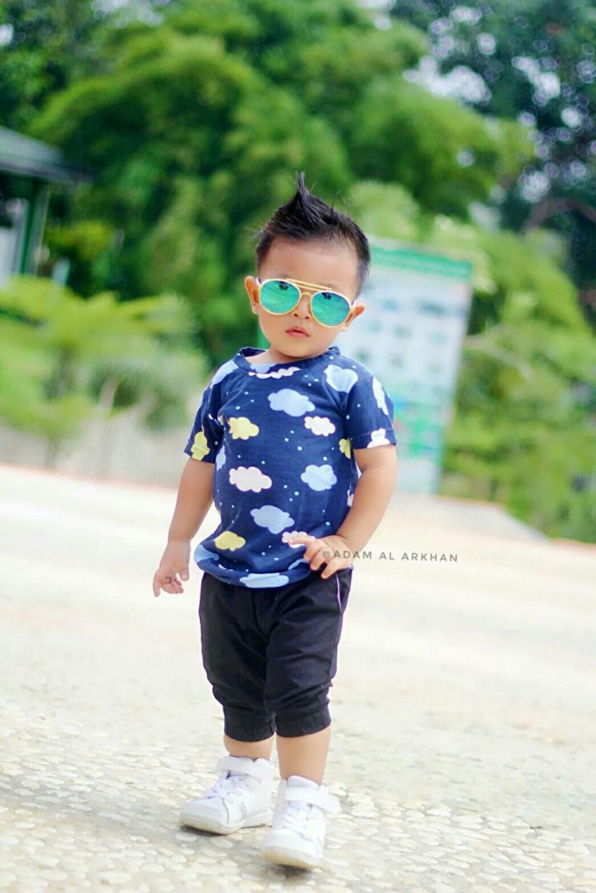 Qaisashop Shop Line Celana Joger Pendek Anak Jogger