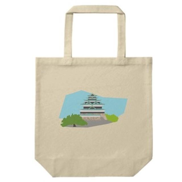 歴史トートバッグM-江戸城(ナチュラル)