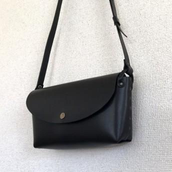 【受注製作・送料無料】休日のバッグ(ワイド)|ブラック