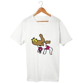 クマレスラー&ウサギレスラー T-shirt(5.6oz)