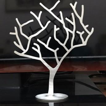 直接 ステンレス鋼の宝石ツリーの設計モデル、金属色、テクスチャクラフトユニークなスタイル、厚さ3mmのバージョン、または作家