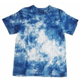 藍染Tシャツ (群雲)