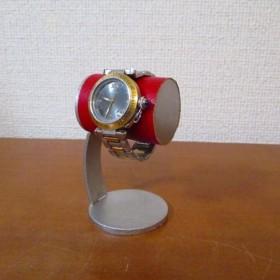 クリスマス かわいい腕時計デスクスタンド レッド