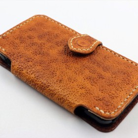 iPhone5手帳型ケース(タン)