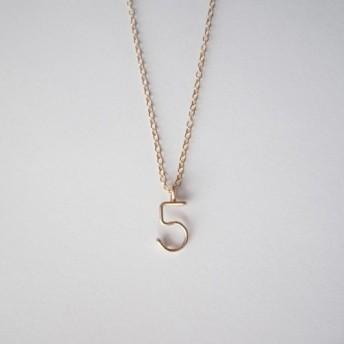 数字( ナンバー )ネックレス