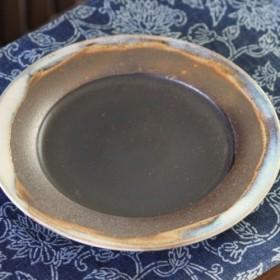 窯変の中皿