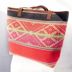 マジックカーペット国家のトーテム - バックパック/ショルダーバッグモロッコのカーペットの風/ Boximiyaショルダーバッグ