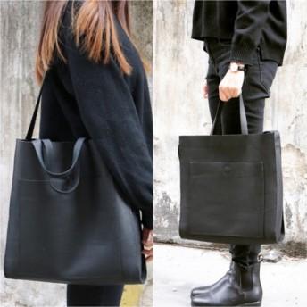 Urban Smart Leather 2 Ways Unisex Tote & Shoulder Bag