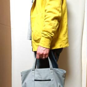 受注制作 8号倉敷帆布のメンズランチトートバッグ