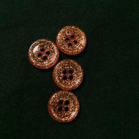 ヴィンテージボタン kirakira 4piece