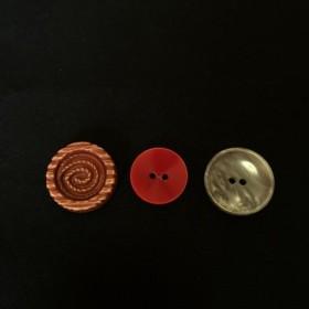 ヴィンテージボタン shar 3piece