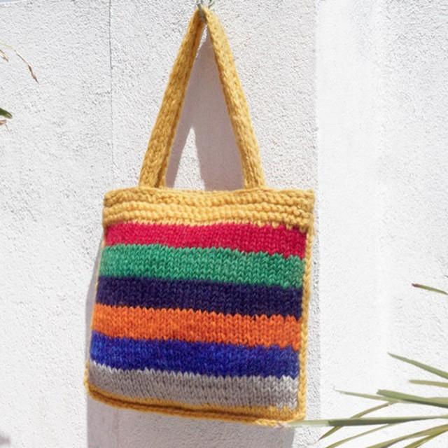c81fd5c3d0fd 限られた軽量の純粋なウール糸かぎ針編みバッグ/ハンドバッグ/ショルダー ...