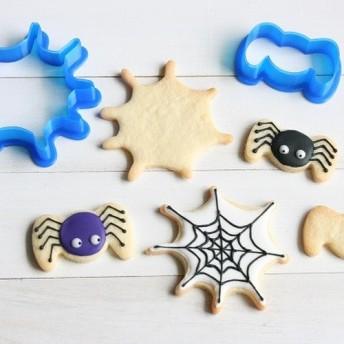 クモとクモの巣クッキー型・クッキーカッター
