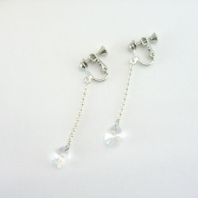 Swarovski Crystal long earring