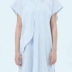 マルチレベルスタイルのストライプのシャツフー長征fuyue