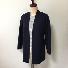 カーディガン風ジャケット濃紺MLフリーサイズ(受注生産用)