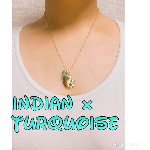 INDIAN×turquoise