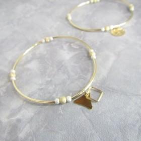 B21005 Georgette III 14K Gold & Silver Bracelets