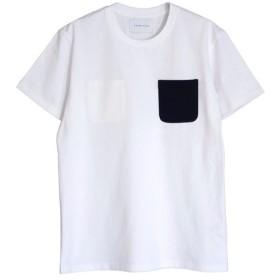 DOUBLE POCKET T-SHIRTS WHITE