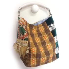 ストーリーバッグ『Pumpkin Moon/パンプキン・ムーン』スーパームーンに魅せられて・ホースハンドルの肩掛けバッグ