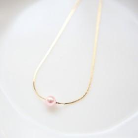 春色♪スワロパール6(ロザリン) 華奢なネックレス♪