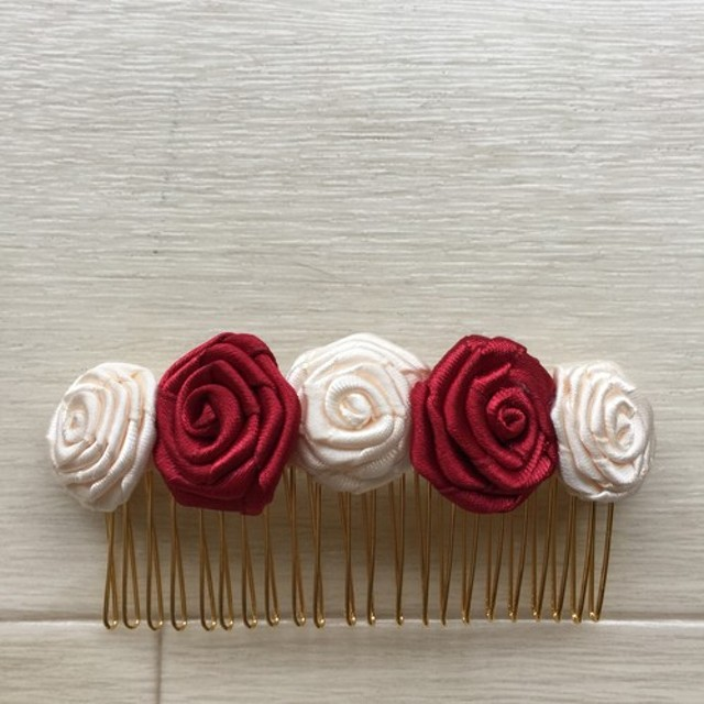 薔薇のコーム