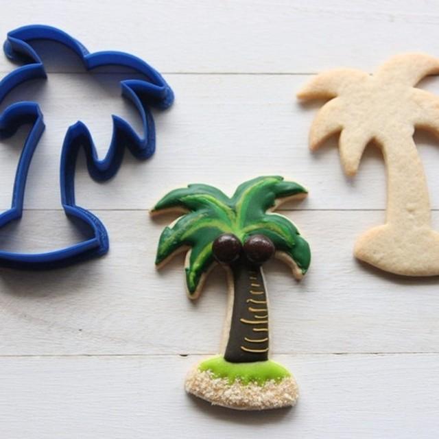 ヤシの木【小 8.5cm】クッキー型・クッキーカッター