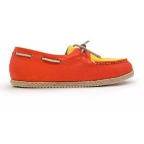 エスパドリーユボートシューズM1106 OrangeYellow