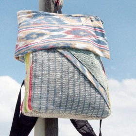 バックパック/ショルダーバッグ/エスニック登山バッグ/パッチワークバッグ/コットンバックパック/トラベルバッグ後の限定版手作り綿