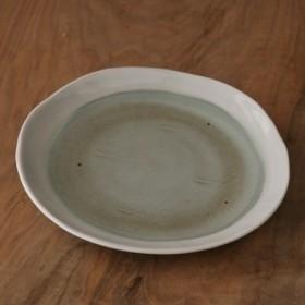 【陶器+磁器丸皿中】 s86 煮物 焼きそば 盛り皿 取り皿 おしゃれ 素敵 かわいい 美味しい 祝い 結婚祝い 誕生日