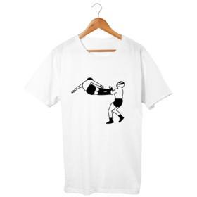 プロレスTシャツ ドロップキック(5.6oz)